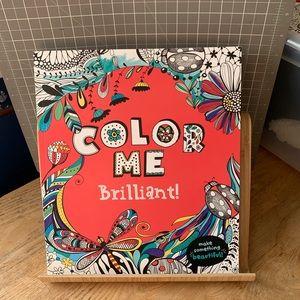 Color Me Brilliant! Coloring Book